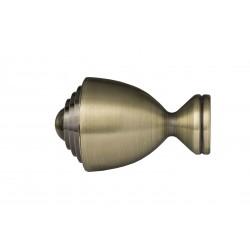 Zakończenie ROSSA 25mm - Złoto antyk